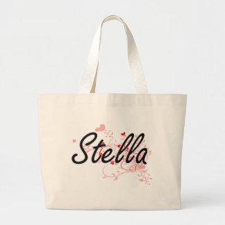Diseño conocido artístico de Stella con los Bolsa Tela Grande