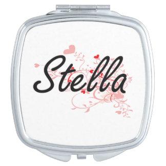Diseño conocido artístico de Stella con los Espejos Para El Bolso
