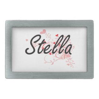 Diseño conocido artístico de Stella con los Hebillas De Cinturón Rectangulares