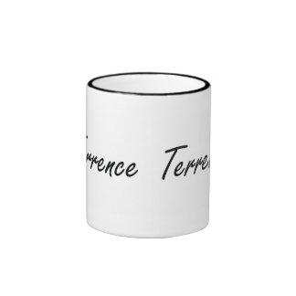 Diseño conocido artístico de Terrence Taza De Dos Colores