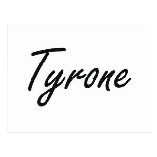 Diseño conocido artístico de Tyrone Tarjetas Postales