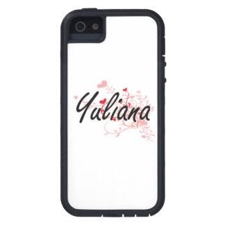 Diseño conocido artístico de Yuliana con los iPhone 5 Carcasa