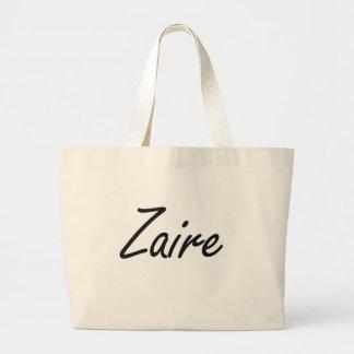 Diseño conocido artístico de Zaire Bolsa Tela Grande
