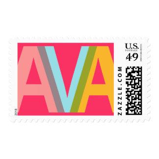 Diseño conocido - AVA Timbre Postal