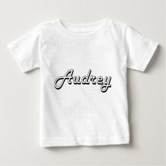 Diseño conocido retro clásico de Audrey Playeras