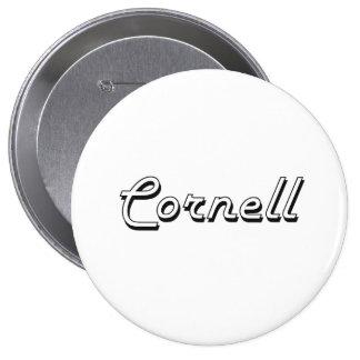 Diseño conocido retro clásico de Cornell Chapa Redonda 10 Cm