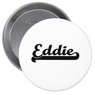 Diseño conocido retro clásico de Eddie Pin Redondo 10 Cm