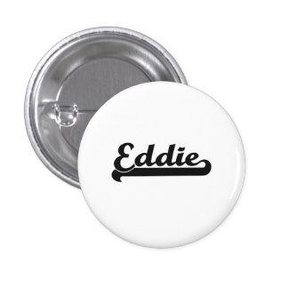 Diseño conocido retro clásico de Eddie Pin Redondo 2,5 Cm