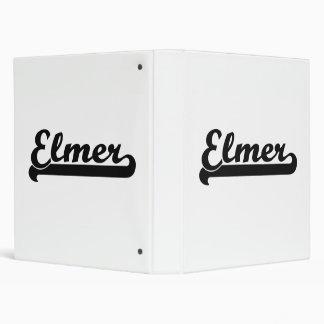"Diseño conocido retro clásico de Elmer Carpeta 1"""