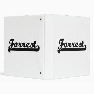 """Diseño conocido retro clásico de Forrest Carpeta 1"""""""