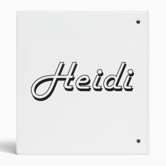 Diseño conocido retro clásico de Heidi Carpeta 2,5 Cm