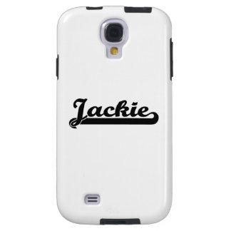 Diseño conocido retro clásico de Jackie Funda Para Galaxy S4