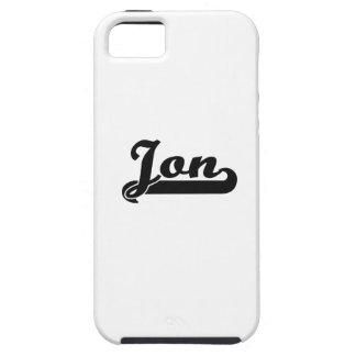 Diseño conocido retro clásico de Jon iPhone 5 Funda