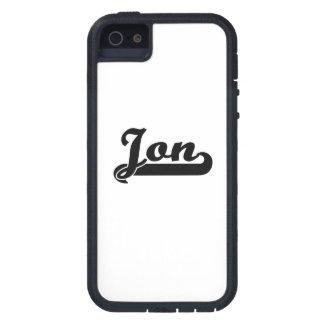 Diseño conocido retro clásico de Jon iPhone 5 Fundas