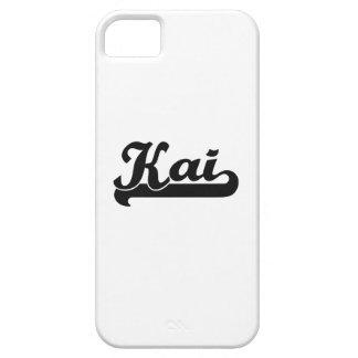Diseño conocido retro clásico de Kai iPhone 5 Funda