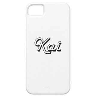 Diseño conocido retro clásico de Kai Funda Para iPhone 5 Barely There