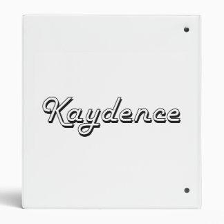 Diseño conocido retro clásico de Kaydence Carpeta 2,5 Cm