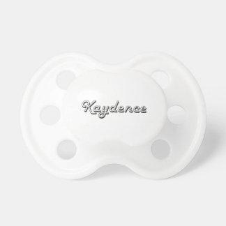Diseño conocido retro clásico de Kaydence Chupete De Bebe