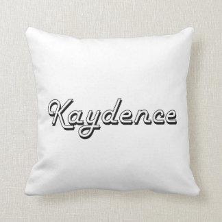 Diseño conocido retro clásico de Kaydence Cojin