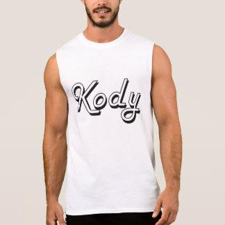 Diseño conocido retro clásico de Kody Camisetas Sin Mangas