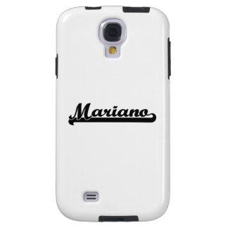 diseño conocido retro clásico de Mariano Funda Para Galaxy S4