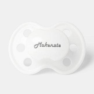 Diseño conocido retro clásico de Mckenzie Chupetes Para Bebes