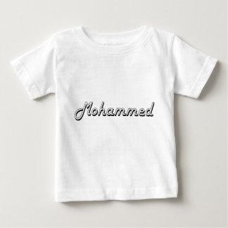 Diseño conocido retro clásico de Mohammed Playera