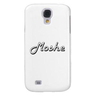 Diseño conocido retro clásico de Moshe Funda Para Galaxy S4