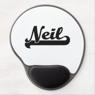 Diseño conocido retro clásico de Neil Alfombrillas De Ratón Con Gel