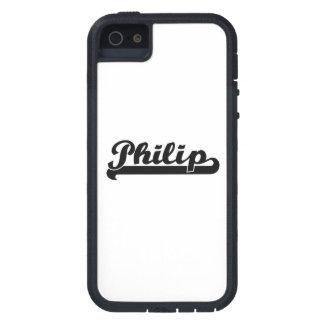 Diseño conocido retro clásico de Philip iPhone 5 Fundas