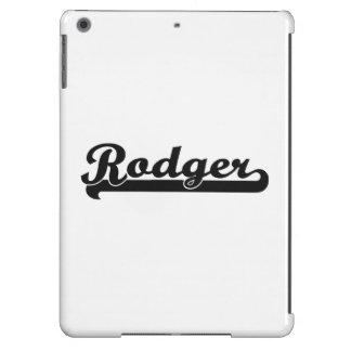Diseño conocido retro clásico de Rodger Funda Para iPad Air
