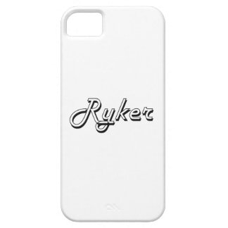 Diseño conocido retro clásico de Ryker iPhone 5 Cobertura