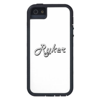 Diseño conocido retro clásico de Ryker Funda Para iPhone 5 Tough Xtreme
