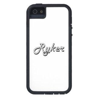 Diseño conocido retro clásico de Ryker iPhone 5 Case-Mate Cárcasa