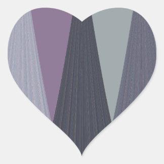 Diseño contemporáneo de Eastaern Pegatina En Forma De Corazón