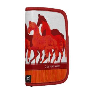 Diseño contemporáneo moderno de los caballos de la planificador