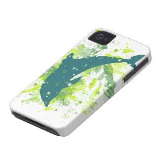 Diseño creativo del delfín carcasa para iPhone 4 de Case-Mate