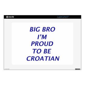Diseño croata skins para 38,1cm portátiles