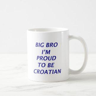 Diseño croata taza clásica