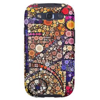 Diseño cruzado al sudoeste del mosaico colorido de samsung galaxy s3 carcasa