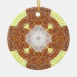 ¡Diseño cruzado citrino! Ornamento De Reyes Magos