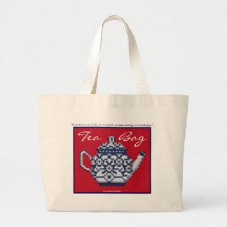Diseño cruzado del pote del té del estilo de la pu bolsas de mano