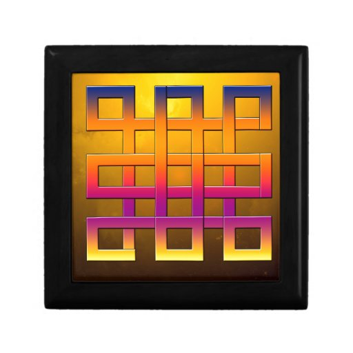 Diseño cuadrado del arte de las cintas cajas de regalo
