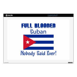 Diseño cubano del ciudadano portátil calcomanía