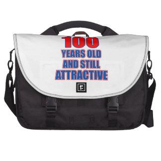 diseño de 100 cumpleaños bolsa para ordenador