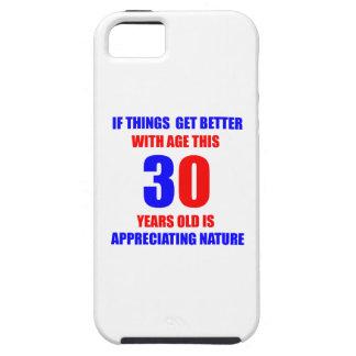 Diseño de 30 cumpleaños iPhone 5 funda