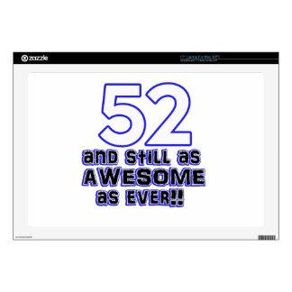 diseño de 52 cumpleaños skins para 43,2cm portátil
