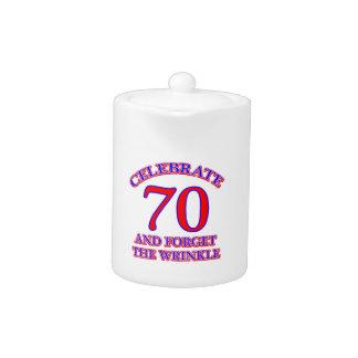 Diseño de 70 cumpleaños