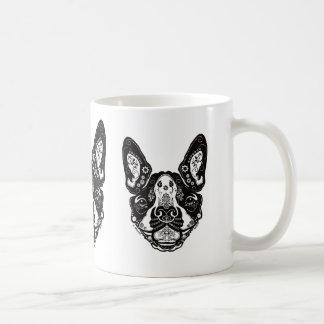 Diseño de A.Minech Boston Terrier Taza De Café