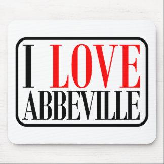 Diseño de Abbeville, Alabama Tapetes De Raton